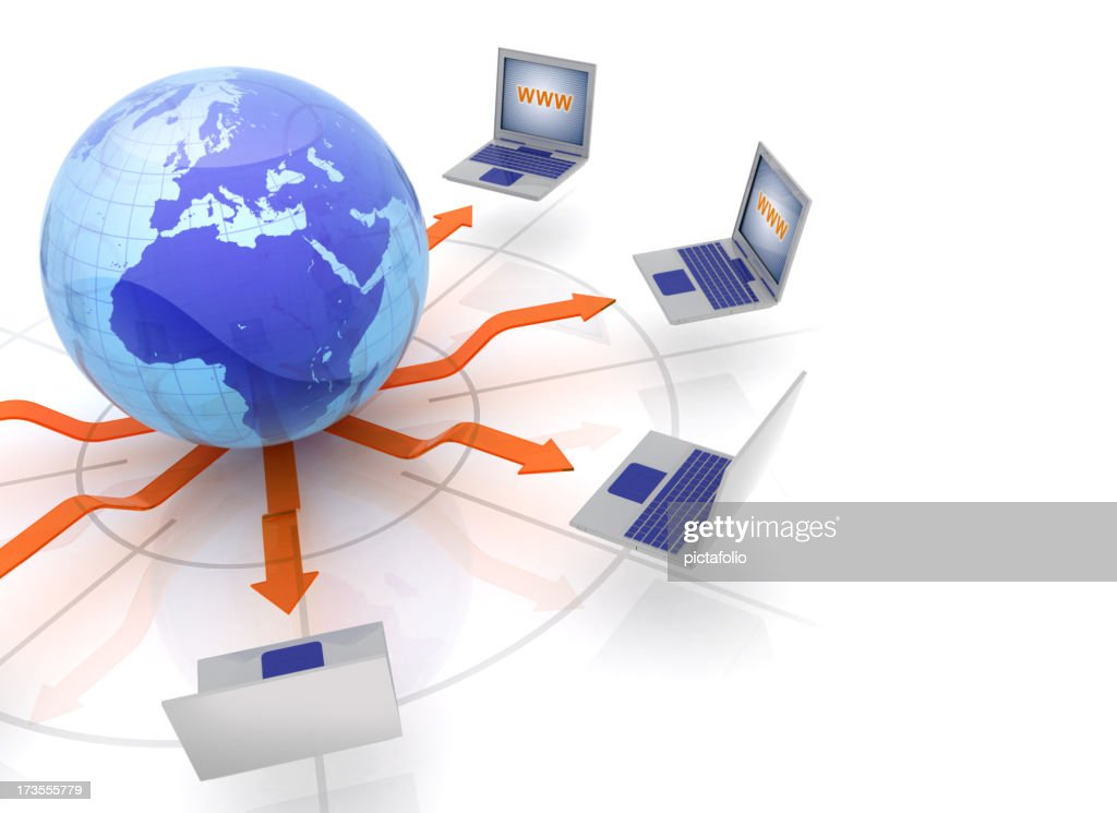 Global Network : Stock Photo