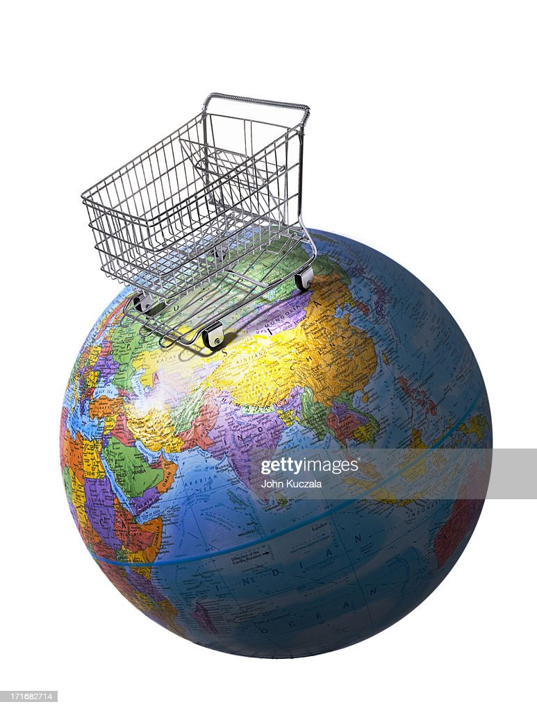 Global shopping : Stock Photo