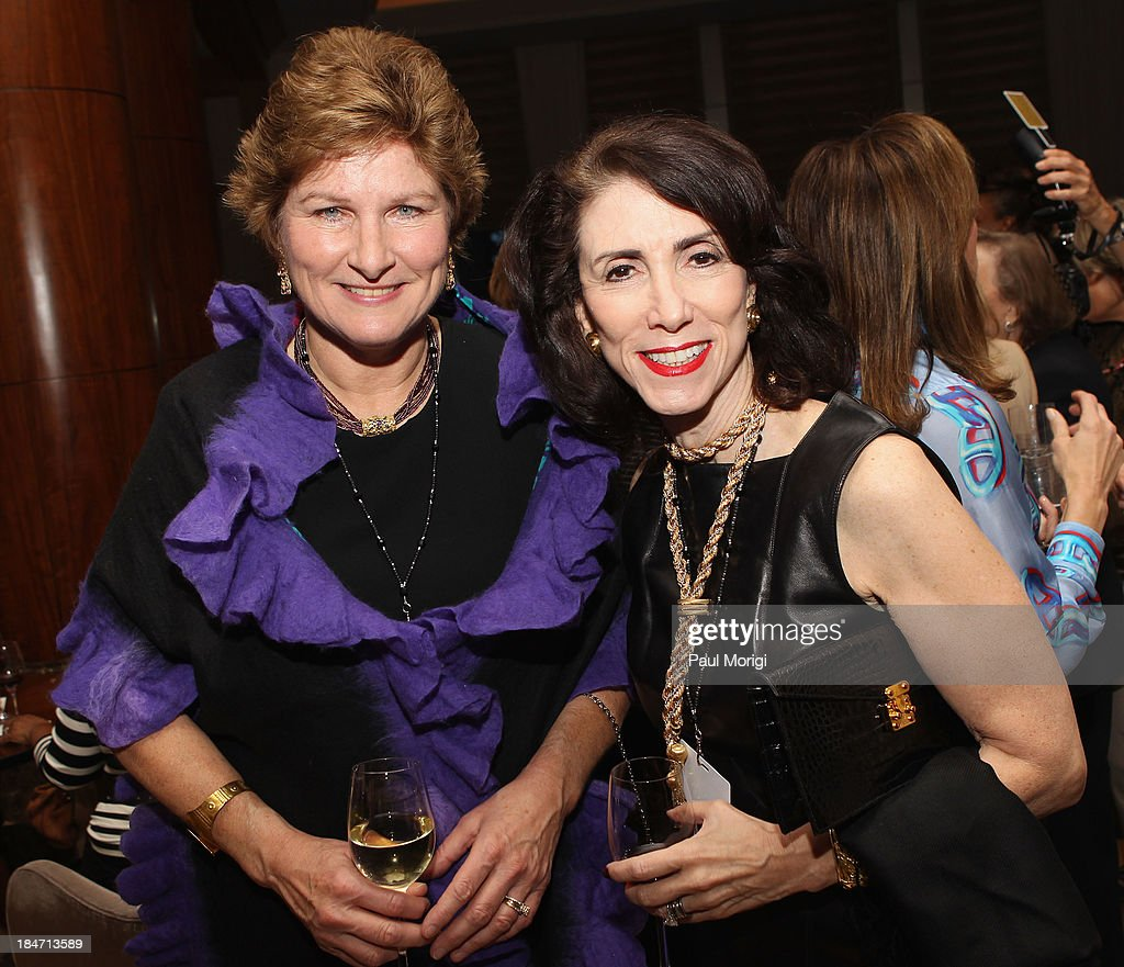 Global vice chair of BursonMarsteller Karen Hughes attends the opening reception during FORTUNE Most Powerful Women Summit on October 15 2013 in...