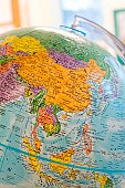 Global view of China.