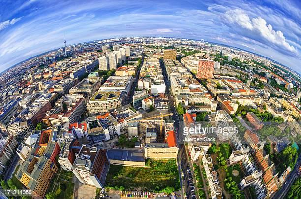 Global Blick auf Berlin