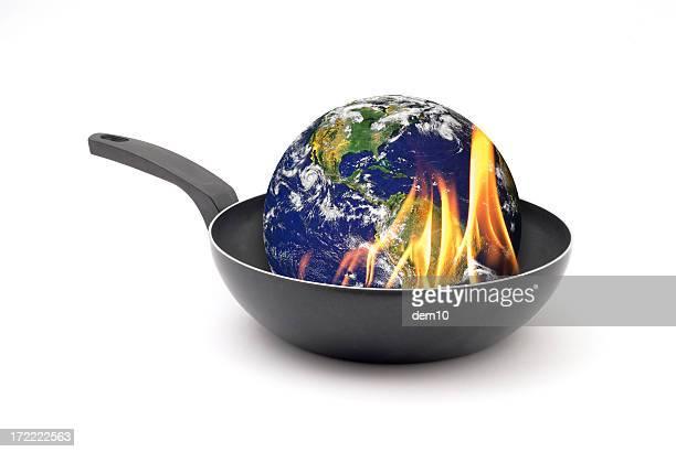 Globale Erwärmung Konzept