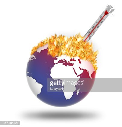 Global Warming : Stockfoto