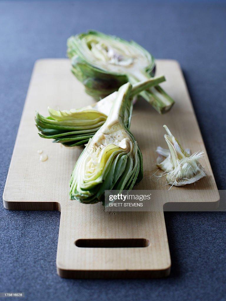 Globe artichoke : Stock Photo