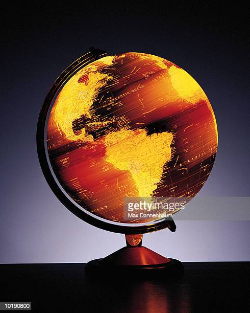 Globe displaying the Americas (Digital composite)