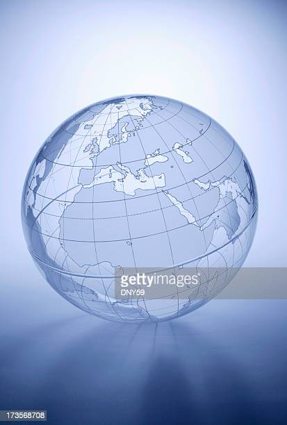 Globe - Europe, Africa, Middle East