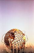 Globe for World's Fair of 1964 at Flushing Meadows