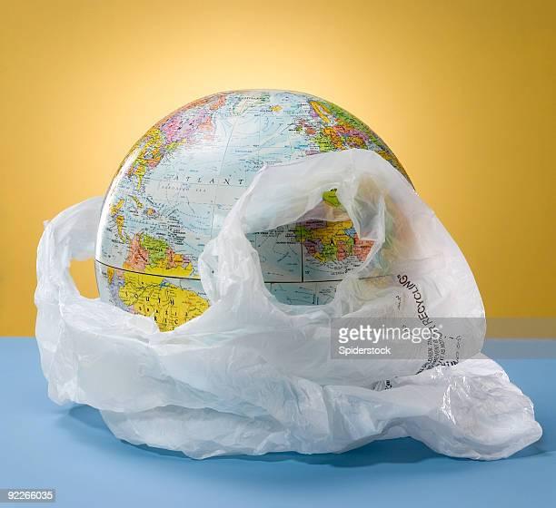 Globo de plástico