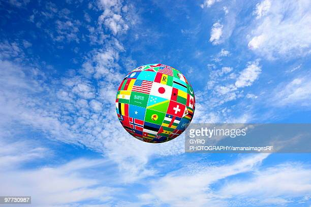 Globe Made up of World Flags