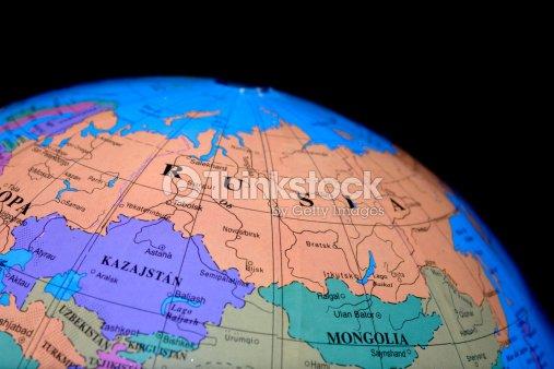 Globe - Russia : Stock Photo