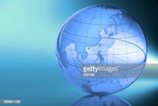 Globe-Eastern Asia & Western Pacific