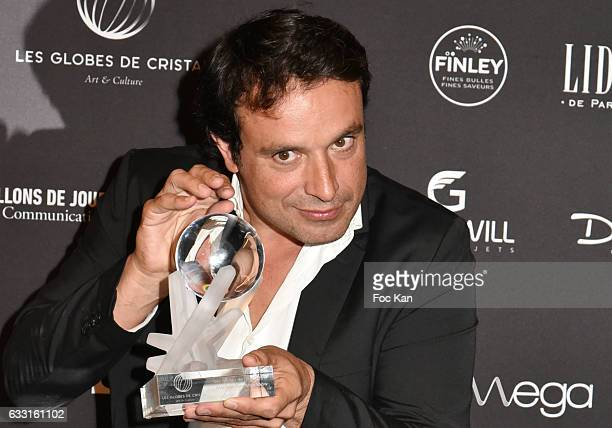 Globes de Cristal 2017 awarded Bruno Salomone attend Les Globes de Cristal Awards 11th Ceremony at Lido on January 30 2017 in Paris France