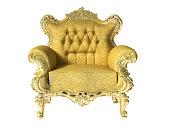 Glod classic luxury chair