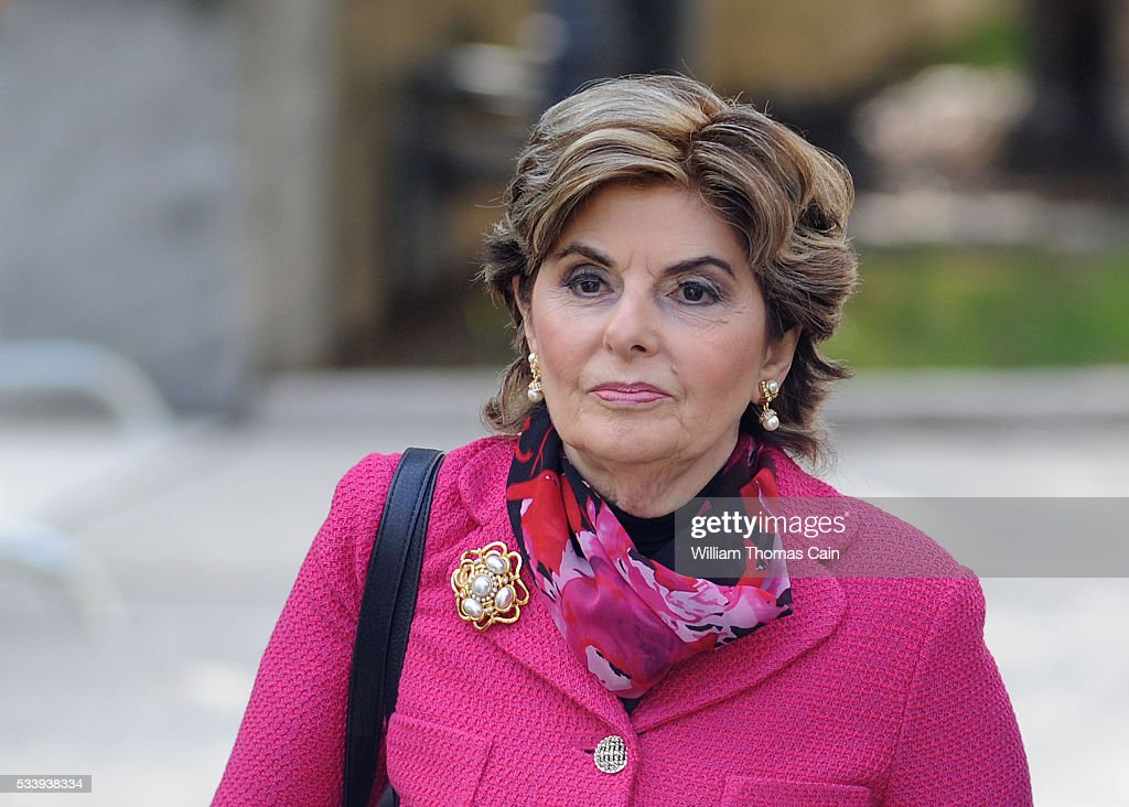 Gloria Allred, an attorney for some of the victims in the Bill Cosby sexual abuse case arrive for a preliminary hearing on sexual assault charges at Montgomery County Courthouse on May 24, 2016 in Norristown, Pennsylvania.