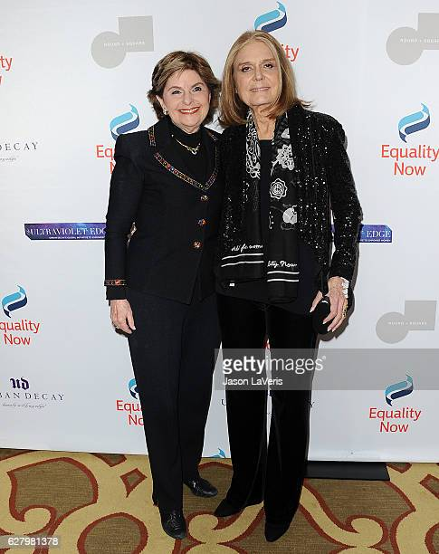 Gloria Allred and Gloria Steinem attend Equality Now's 3rd annual 'Make Equality Reality' gala at Montage Beverly Hills on December 5 2016 in Beverly...