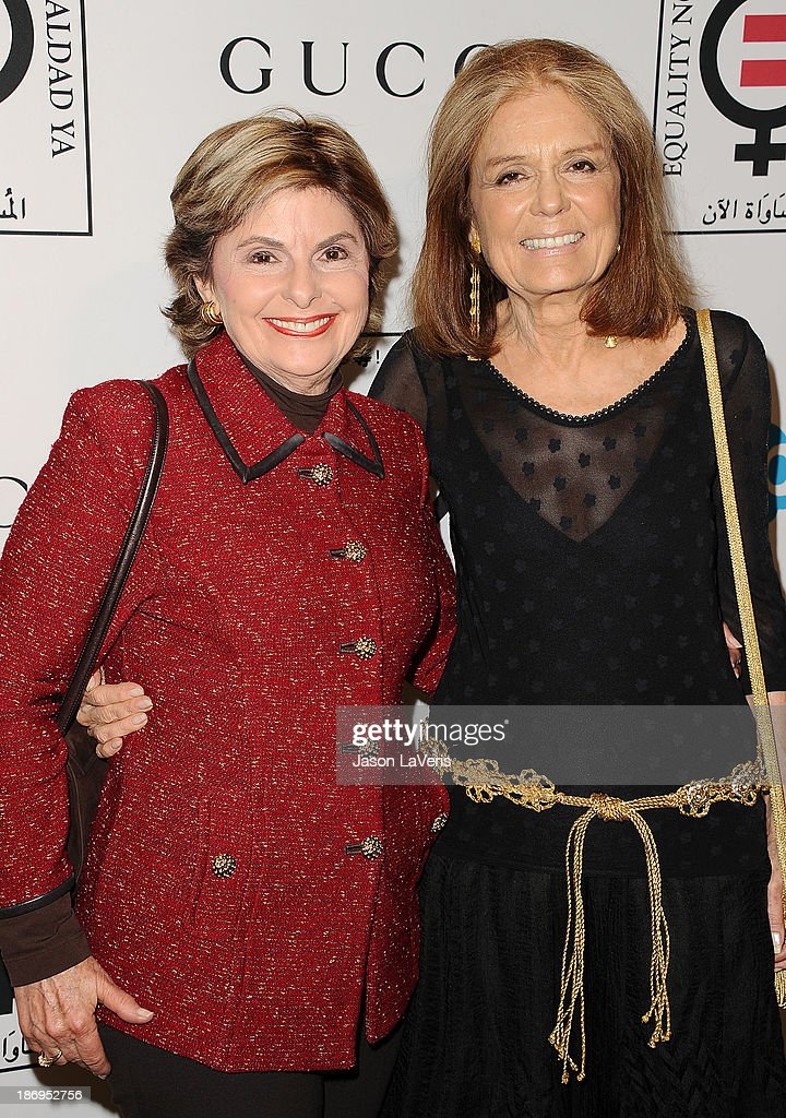 Gloria Allred and Gloria Steinem attend the 'Make Equality Reality' event at Montage Beverly Hills on November 4, 2013 in Beverly Hills, California.