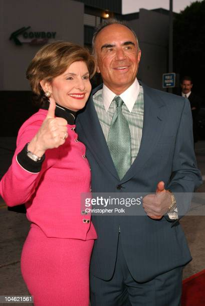 Gloria Allred and Robert Shapiro during A Special Screening og MGM's 'It Runs In The Family Premiere' Arrivals at Mann Bruin Theatre in Westwood CA...