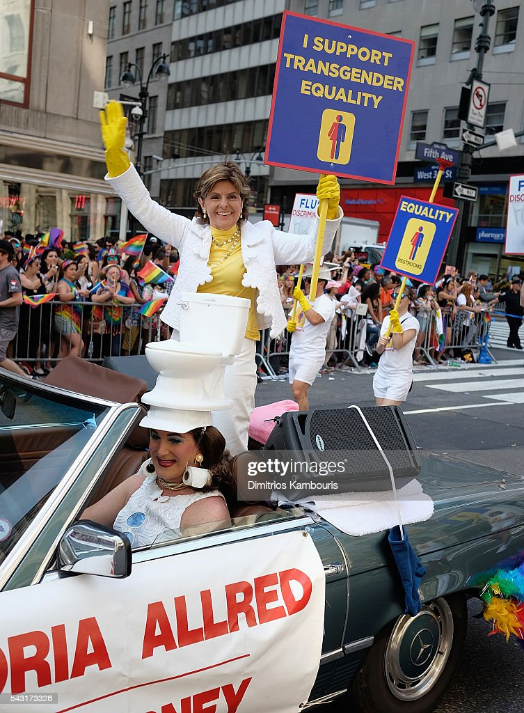 <a gi-track='captionPersonalityLinkClicked' href=/galleries/search?phrase=Gloria+Allred&family=editorial&specificpeople=213999 ng-click='$event.stopPropagation()'>Gloria Allred</a> attends the New York City Pride 2016 march on June 26, 2016 in New York Cit on June 26, 2016 in New York City.