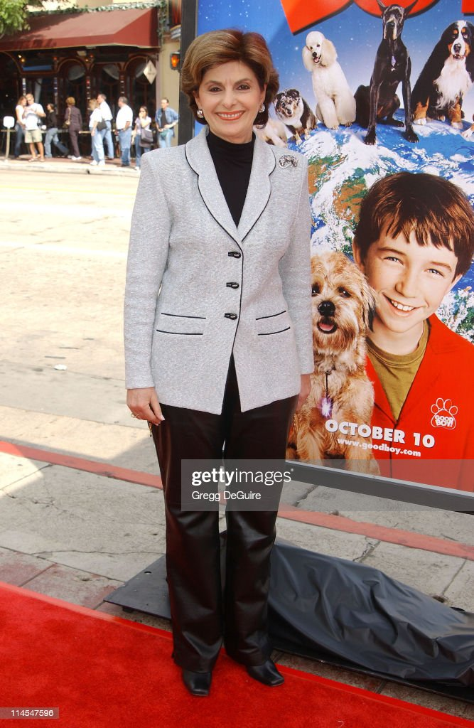 Gloria Allred during 'Good Boy!' Premiere at Mann Village Theatre in Westwood, California, United States.