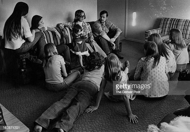 DEC 14 1975 JAN 2 1976 Gloria And Lynn Wilcoxsin Chat with foster daughters in their arapahoe Credit Denver PostInc