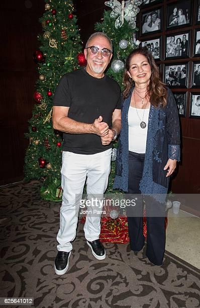 Gloria Estefan And Emilio Estefan Host The 9th Annual Thanksgiving 'Feed A Friend' on November 24 2016 in Miami Florida