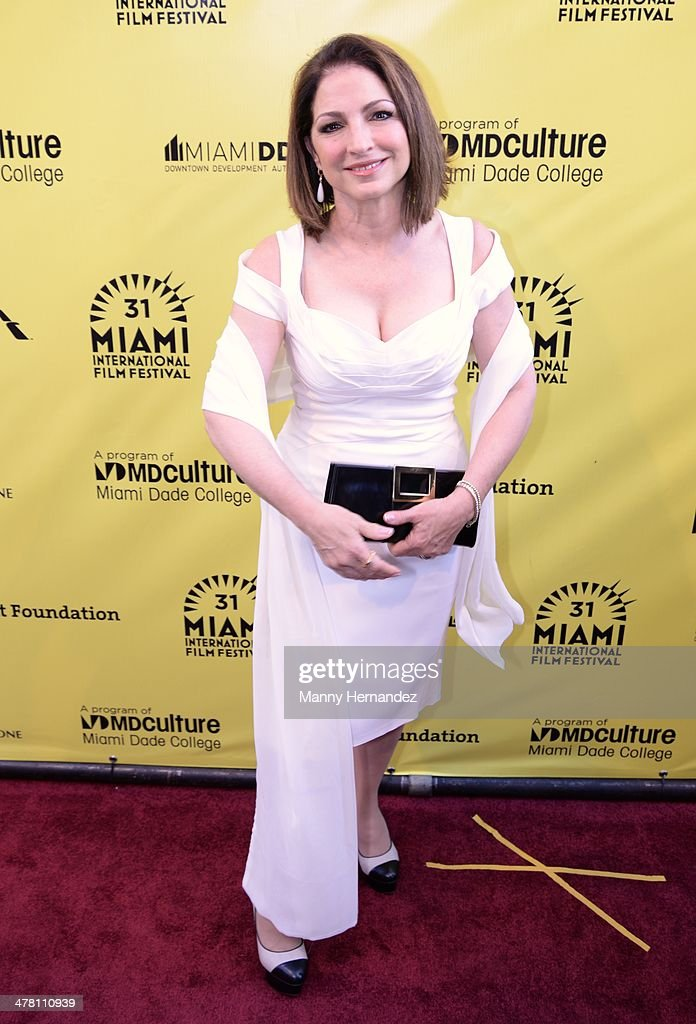 <a gi-track='captionPersonalityLinkClicked' href=/galleries/search?phrase=Gloria+Estefan&family=editorial&specificpeople=201703 ng-click='$event.stopPropagation()'>Gloria Estefan</a> attends 'An Unbreakable Bond' premiere during the Miami International Film Festival at Gusman Center for the Performing Arts on March 11, 2014 in Miami, Florida.