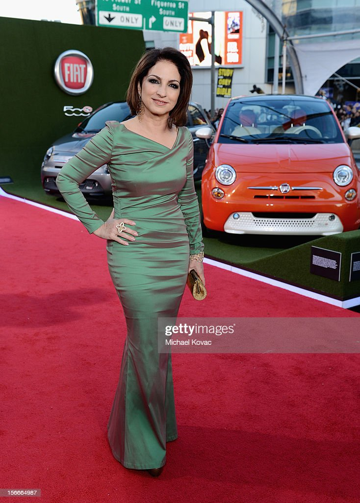 Gloria Estefan attends Fiat's Into The Green during the 40th American Music Awards held at Nokia Theatre L.A. Live on November 18, 2012 in Los Angeles, California.