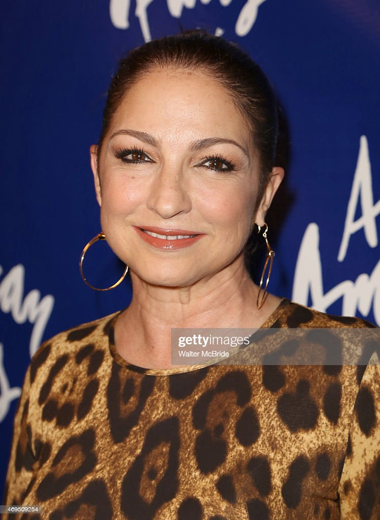 <a gi-track='captionPersonalityLinkClicked' href=/galleries/search?phrase=Gloria+Estefan&family=editorial&specificpeople=201703 ng-click='$event.stopPropagation()'>Gloria Estefan</a> attends the Broadway Opening Night Performance of 'An American in Paris' at The Palace Theatre on April 12, 2015 in New York City.