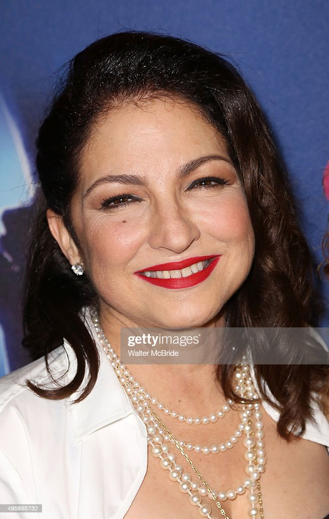 <a gi-track='captionPersonalityLinkClicked' href=/galleries/search?phrase=Gloria+Estefan&family=editorial&specificpeople=201703 ng-click='$event.stopPropagation()'>Gloria Estefan</a> attends the Broadway Opening Night Performance of 'On Your Feet' at the Marquis Theatre on November 5,2015 in New York City.