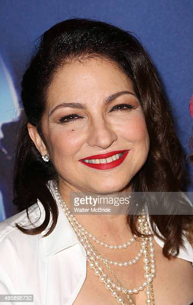 Gloria Estefan attends the Broadway Opening Night Performance of 'On Your Feet' at the Marquis Theatre on November 52015 in New York City