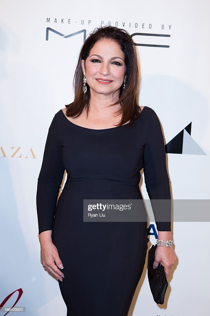 Gloria Estefan attends The Drama League's Centennial Celebration Honoring Bernadette Peters at The Plaza Hotel on November 2, 2015 in New York City.