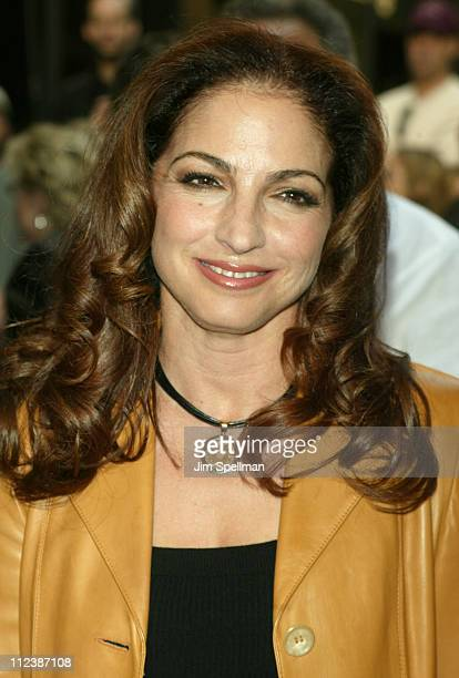 Gloria Estefan during Opening Night of 'Gypsy' Arrivals May 1 2003 at Shubert Theatre in New York New York United States