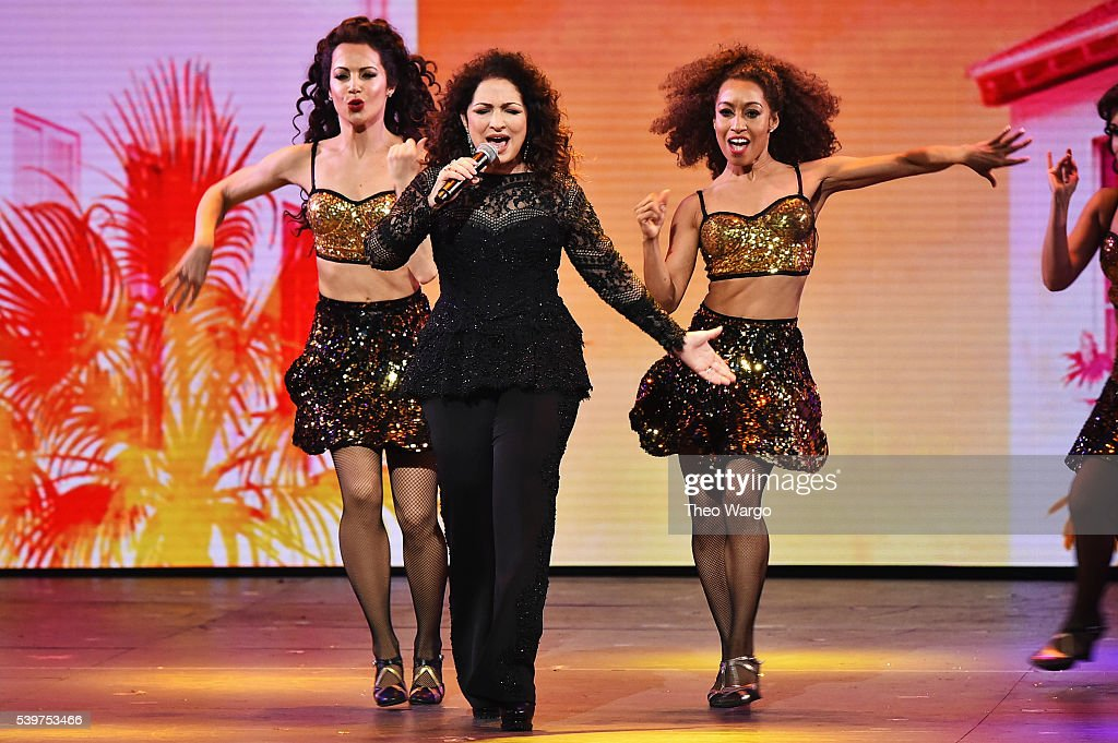 Gloria Estefan of 'On Your Feet' performs onstage during the 70th Annual Tony Awards at The Beacon Theatre on June 12 2016 in New York City