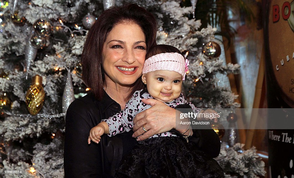 <a gi-track='captionPersonalityLinkClicked' href=/galleries/search?phrase=Gloria+Estefan&family=editorial&specificpeople=201703 ng-click='$event.stopPropagation()'>Gloria Estefan</a> participates in 5th Annual Thanksgiving Feed A Friend at Bongos on November 22, 2012 in Miami, Florida.