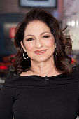 Gloria Estefan visits 'Extra' at their New York Studios at HM in Times Square on November 18 2015 in New York City