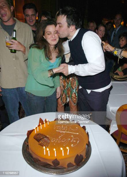 Gloria Fallon and Jimmy Fallon during Jimmy Fallon's Birthday Party September 24 2005 at The National Arts Club in New York City New York United...