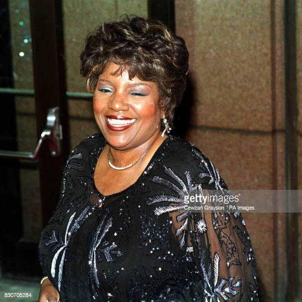 Gloria Gaynor arriving for the Michael Jackson Concert at Madison Square Garden in New York City