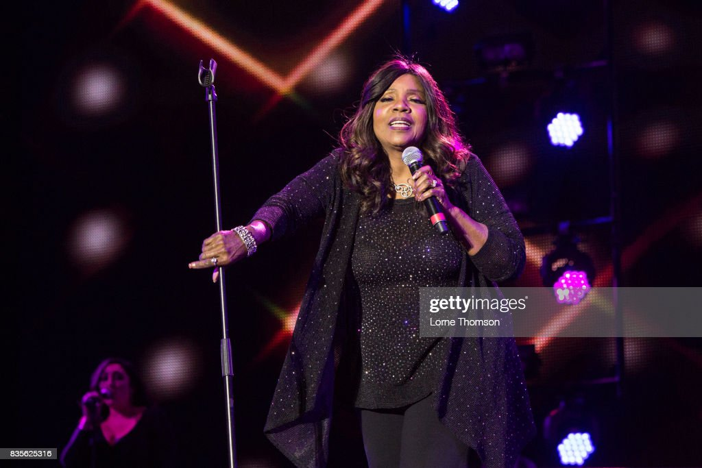 Gloria Gaynor performs at Rewind Festival on August 19, 2017 in Henley-on-Thames, England.