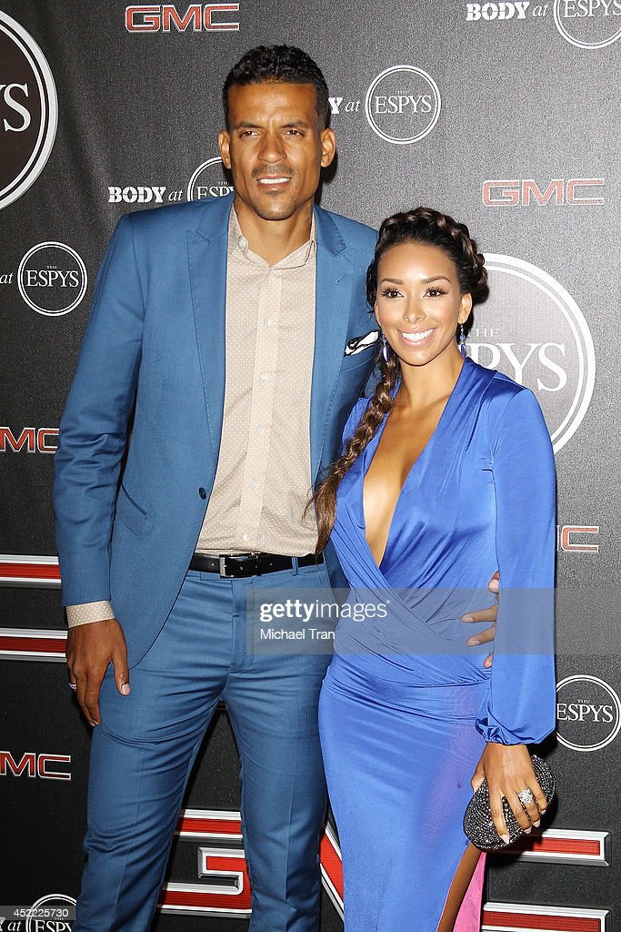 Gloria Govan and Matt Barnes arrive at the BODY at ESPYS Pre-Party held at Lure on July 15, 2014 in Hollywood, California.