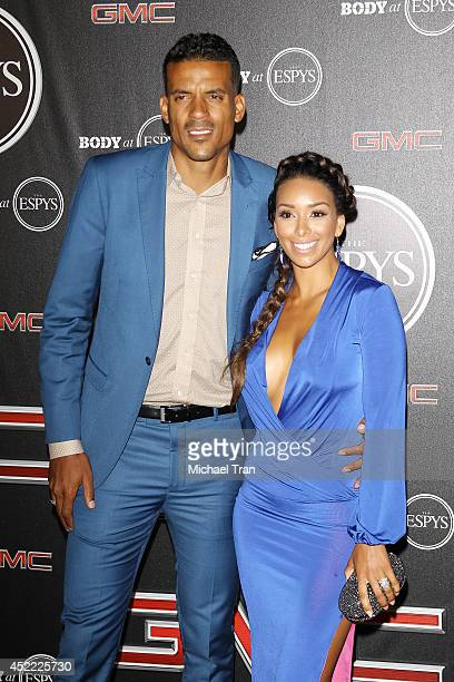 Gloria Govan and Matt Barnes arrive at the BODY at ESPYS PreParty held at Lure on July 15 2014 in Hollywood California