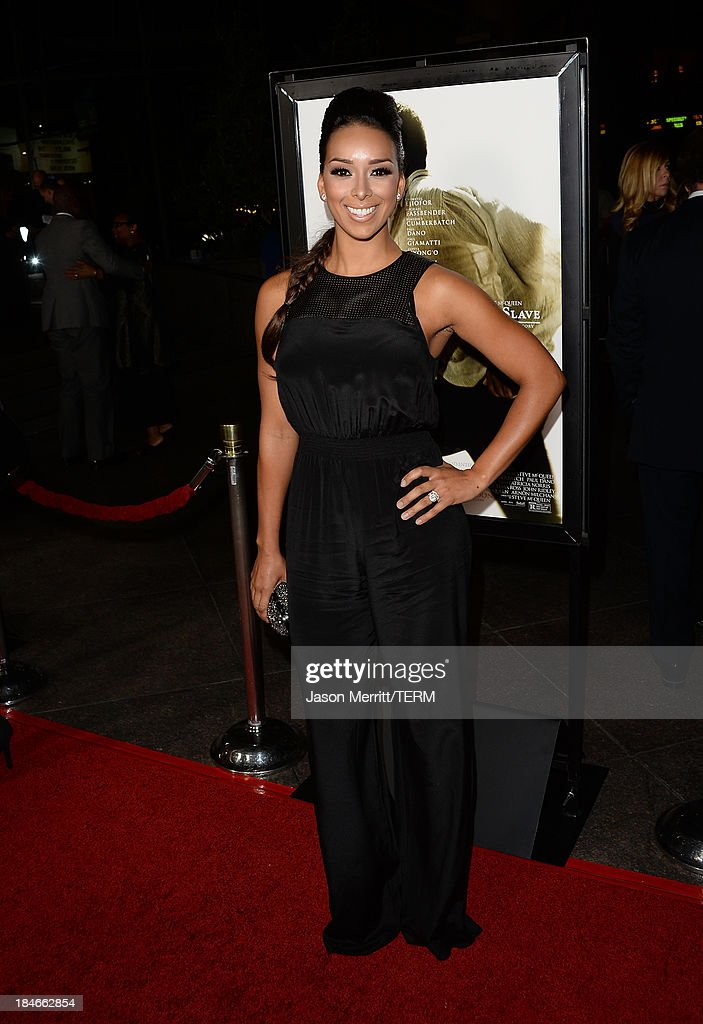 Gloria Govan arrives at the Los Angeles premiere of '12 Years A Slave' at Directors Guild Of America on October 14, 2013 in Los Angeles, California.