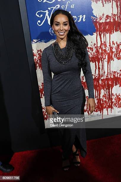 Gloria Govan arrives at the Premiere of Fox Searchlight Pictures' 'The Birth Of A Nation' at the ArcLight Cinemas Cinerama Dome on September 21 2016...
