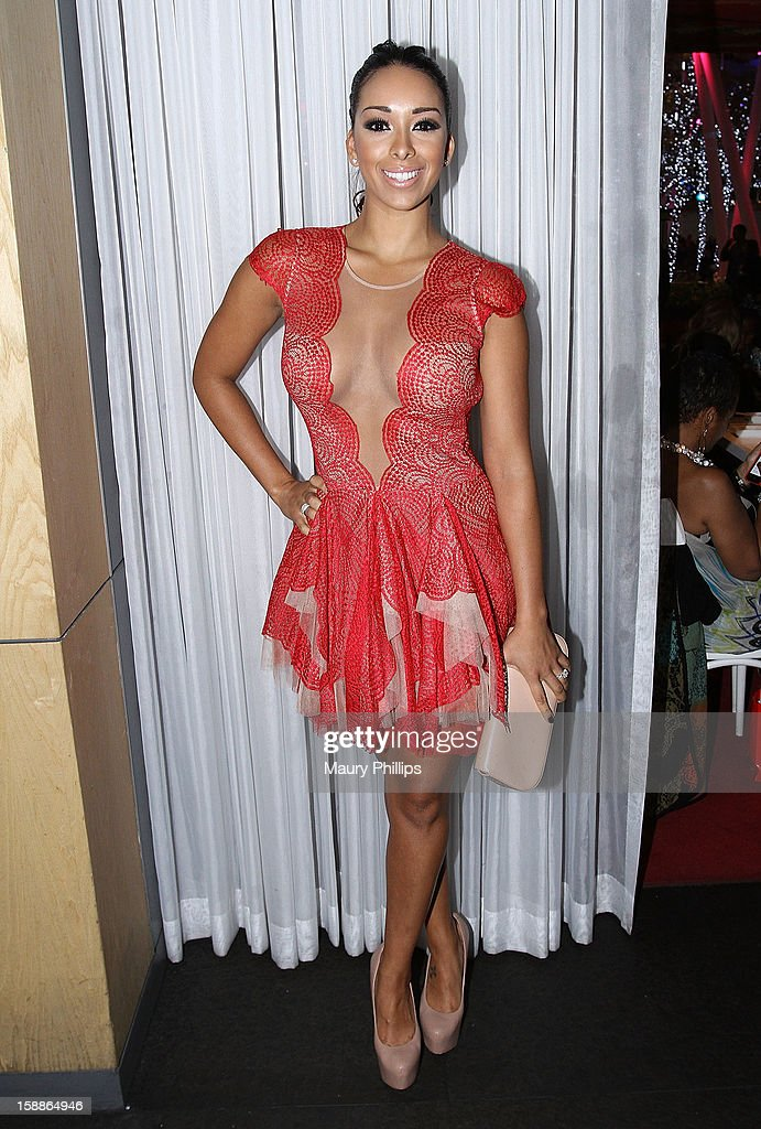 Gloria Govan attends a private dinner for Kevin Hart on December 31, 2012 in Los Angeles, California.