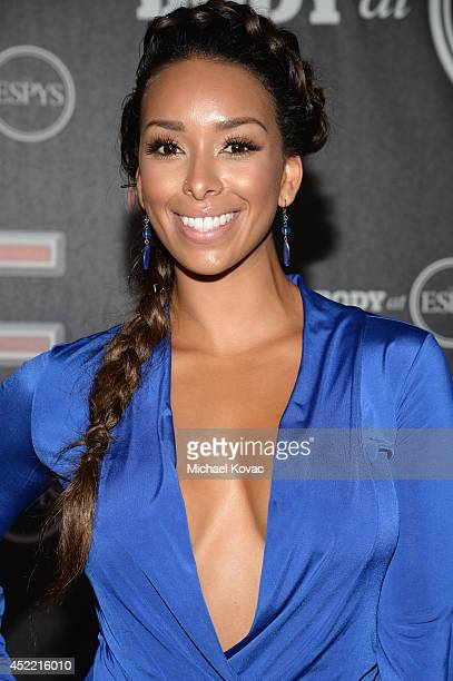 Gloria Govan attends the Body at ESPYS PreParty at Lure on July 15 2014 in Hollywood California