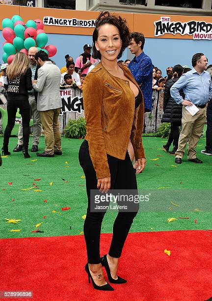 Gloria Govan attends the premiere of 'Angry Birds' at Regency Village Theatre on May 7 2016 in Westwood California