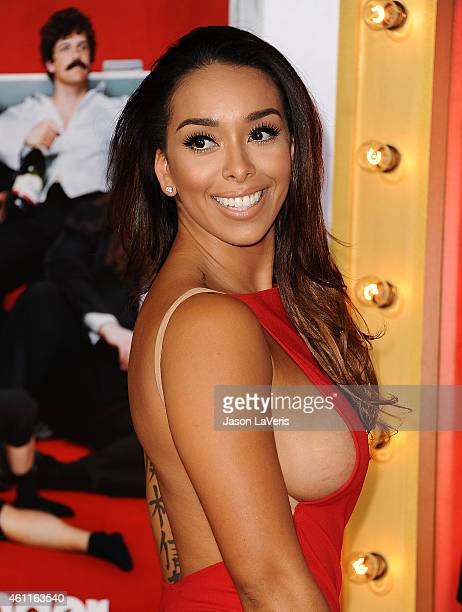 Gloria Govan attends the premiere of 'The Wedding Ringer' at TCL Chinese Theatre on January 6 2015 in Hollywood California
