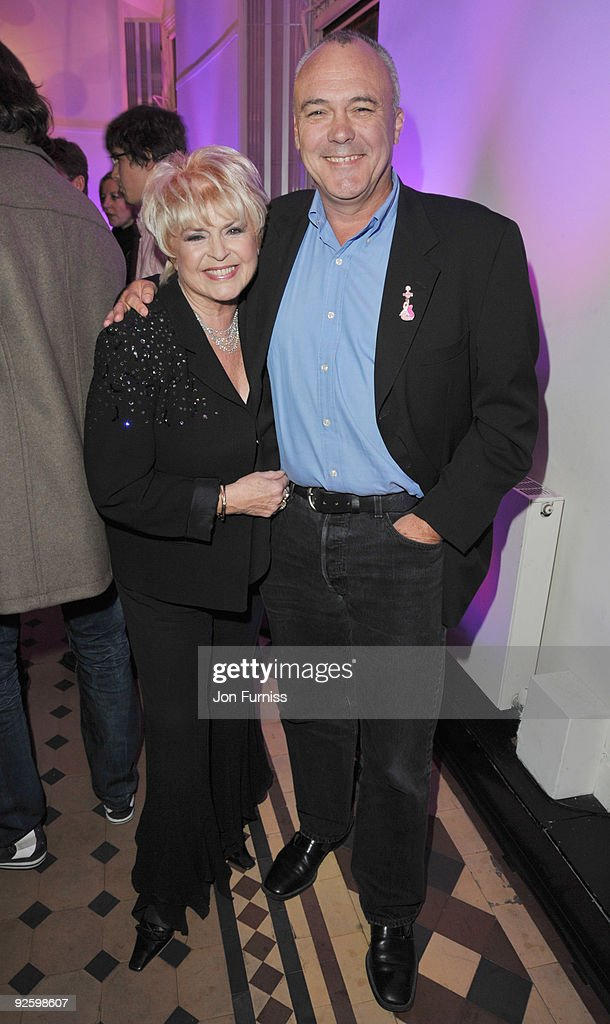 Gloria Hunniford and Hamish Dodds attend the PINKTOBER Women Of Rock Charity Concert at the Royal Albert Hall on November 1 2009 in London England