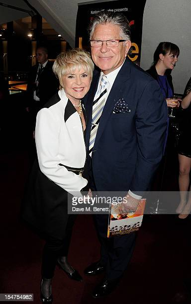 Gloria Hunniford and Stephen Way attend an after party following the 5th Anniversary Performance of 'War Horse' at The New London Theatre Drury Lane...