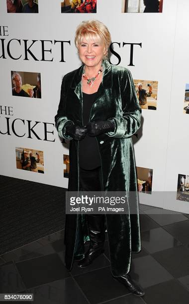 Gloria Hunniford arrives for the UK Premiere of The Bucket List at the Vue West End London