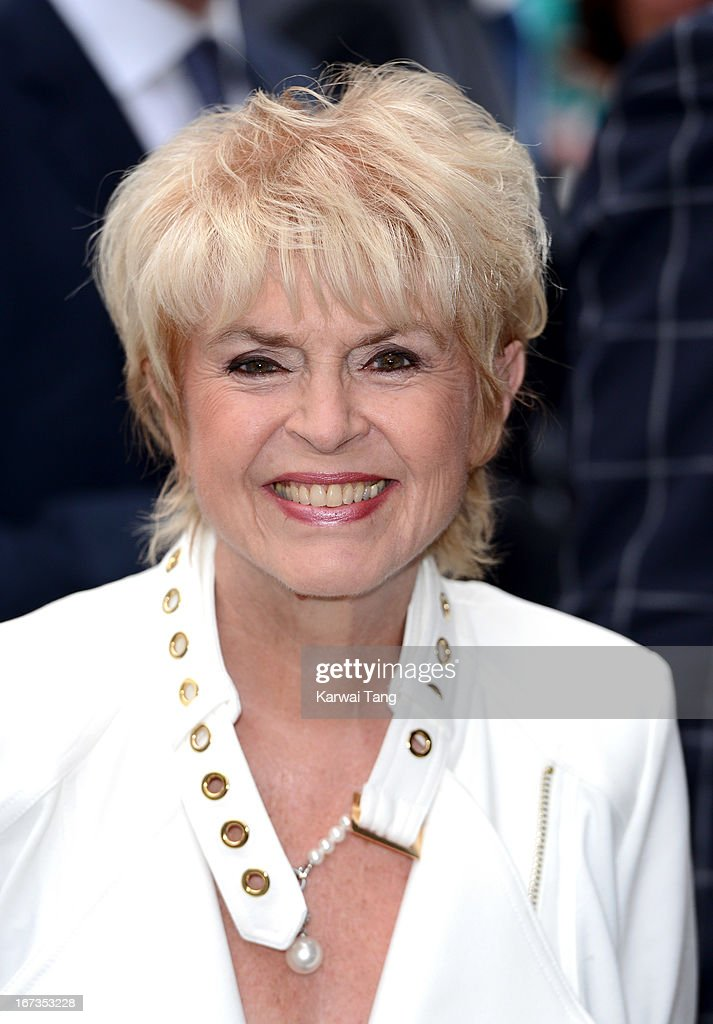 Gloria Hunniford attends The Art Room reception at National Portrait Gallery on April 24, 2013 in London, England.